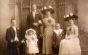 Royalty Free Photo of a Victorian Family