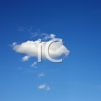 Royalty Free Photo of a Cloud in the Sky