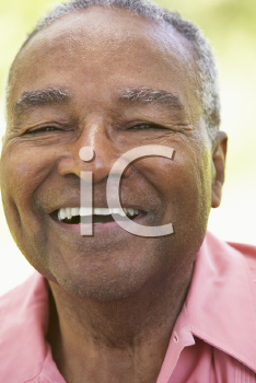 Royalty Free Photo of a Smiling Man