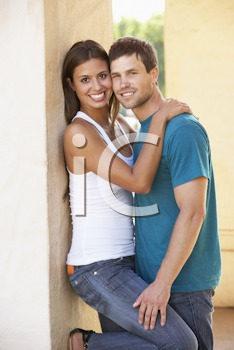 Royalty Free Photo of a Man and Woman