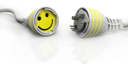 Royalty Free Clipart Image of Happy Connections