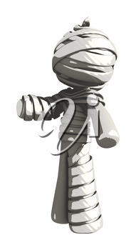 Mummy or Personal Injury Concept Gesture