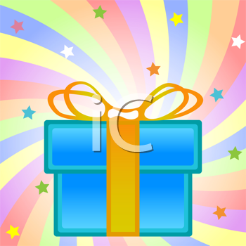 present box composition, abstract vector art illustration; image contains clipping mask and transparency