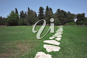 Royalty Free Photo of a Footpath