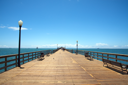 Royalty Free Photo of a Boardwalk