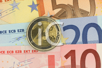 Royalty Free Photo of Euro Currency