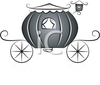 Royalty Free Clipart Image of a Carriage