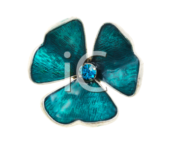 Royalty Free Photo of Ring in the Shape of a Shamrock