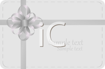 Royalty Free Clipart Image of an Invitation Template