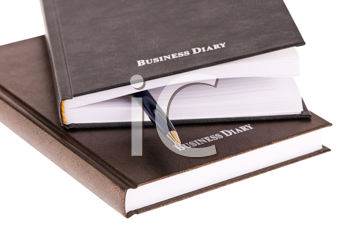 Royalty Free Photo of Business Diaries