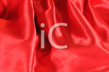 Royalty Free Photo of Red Silk