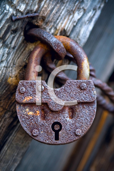 Royalty Free Photo of a Padlock