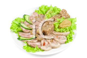 Royalty Free Photo of Jellied Minced Meat