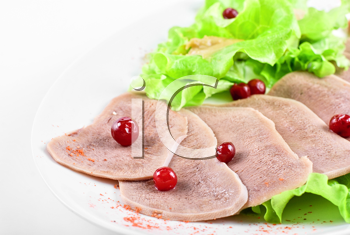 Royalty Free Photo of Beef Tongues