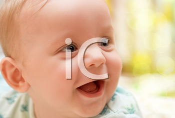 Royalty Free Photo of a Happy Baby Boy