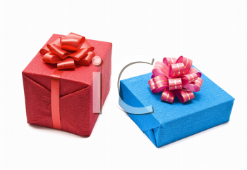 Royalty Free Photo of a Gift Boxes With Bow
