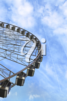 The Big Wheel (Roue de Paris) at Place de la Concorde, Paris, France