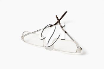 Close-up of an eyeglasses
