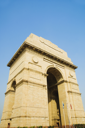 Low angle view of a war memorial, India Gate, New Delhi, India