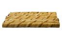 Close-up of chocolate wafer sticks in a row