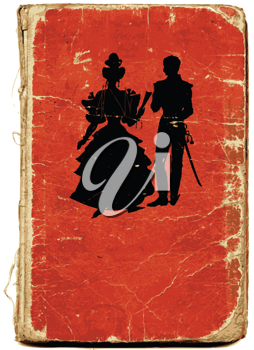 Royalty Free Clipart Image of a Book Cover