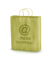 Royalty Free Photo of an Online Shopping Bag