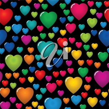 Royalty Free Clipart Image of a Valentine Background