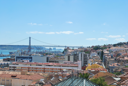 Royalty Free Photo of a Landscape View of Lisbon, Portugal
