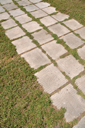 Royalty Free Photo of a Stone Walkway