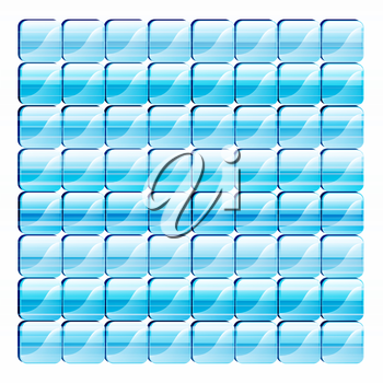 Royalty Free Clipart Image of an Abstract Blue Background