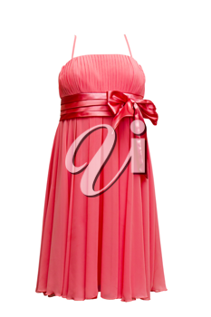 Royalty Free Photo of Red Evening Dress