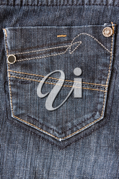 Royalty Free Photo of a Pair of Jeans