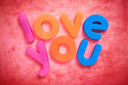 Royalty Free Photo of Love You Magnets