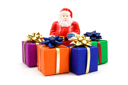 Royalty Free Photo of Christmas Presents