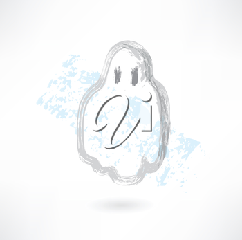 cute ghost grunge icon