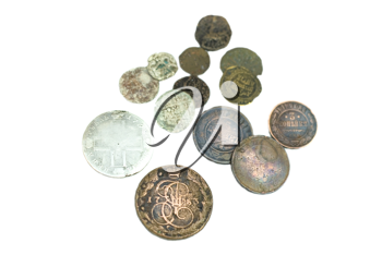 Royalty Free Photo of Ancient Coins