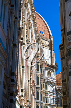 Royalty Free Photo of The Dome of the Florence Cathedral in Italy
