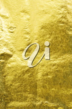 Royalty Free Photo of a Golden Foil Background
