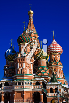 Royalty Free Photo of St. Basil's Cathedral in Moscow