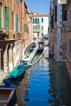 Royalty Free Photo of a Canal in Venice