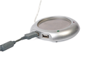 Royalty Free Photo of a USB Warmer for Cup With a Clipping Path