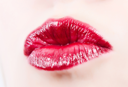 Royalty Free Photo of a Woman's Lips