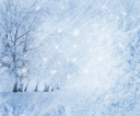 Royalty Free Photo of a Blue Winter Background