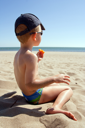 Young Child on the beach