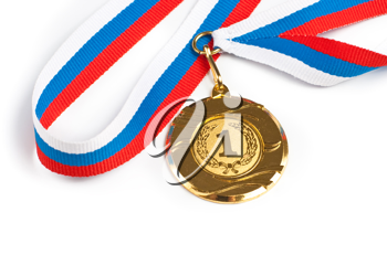 Royalty Free Photo of a Gold Medal