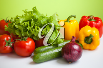 Royalty Free Photo of a Bunch of Vegetables