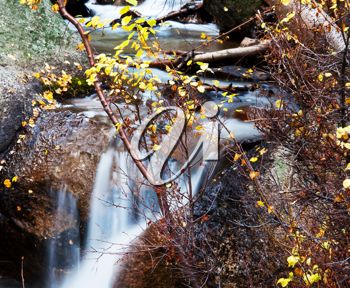 Royalty Free Photo of Cascading Water