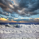 Royalty Free Photo of Waves in the Ocean