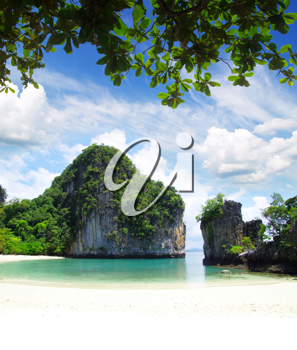 Royalty Free Photo of a Tropical Island in Thailand