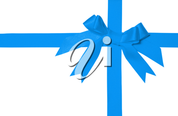 Royalty Free Photo of a Bow and Ribbons